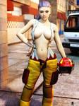 Sexy Firefighter Girl 4