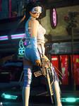 SF Futurist Girl 57