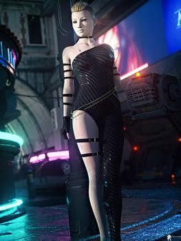 SF Futurist Girl 61