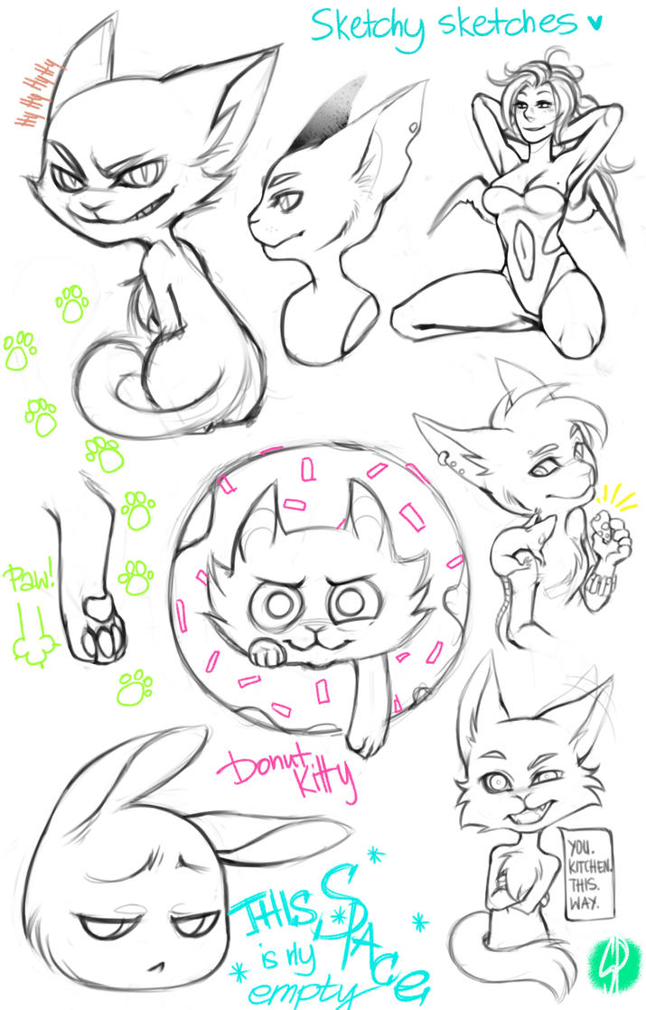 Cats dump by Rejuch