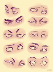 Eyes by GoldenTar