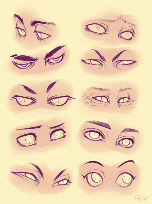Eyes by GoldenTar