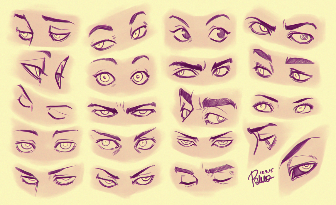 Eye References Drawing Eye Drawing Reference In Drawing References