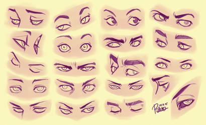 Eyes 2 by GoldenTar