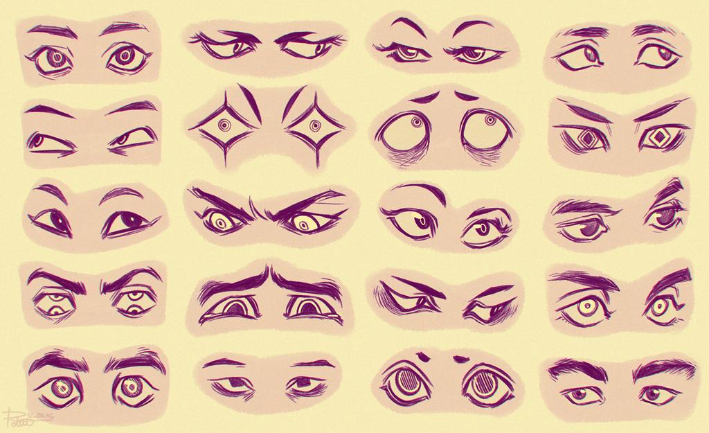 eyes 4 by goldentar on deviantart
