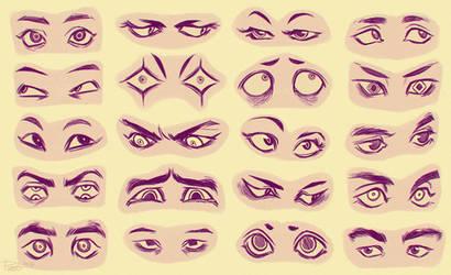 Eyes 4 by GoldenTar