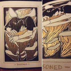Ink/GrossTober 18: Poisoned