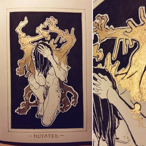 Ink/GrossTober 22: Mutation