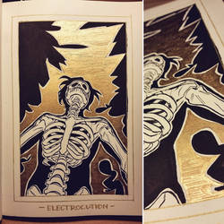 Ink/GrossTober 23: Electrocution