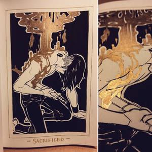 Ink/GrossTober 25: Sacrificed