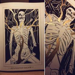 Ink/GrossTober 28: Advanced Decay