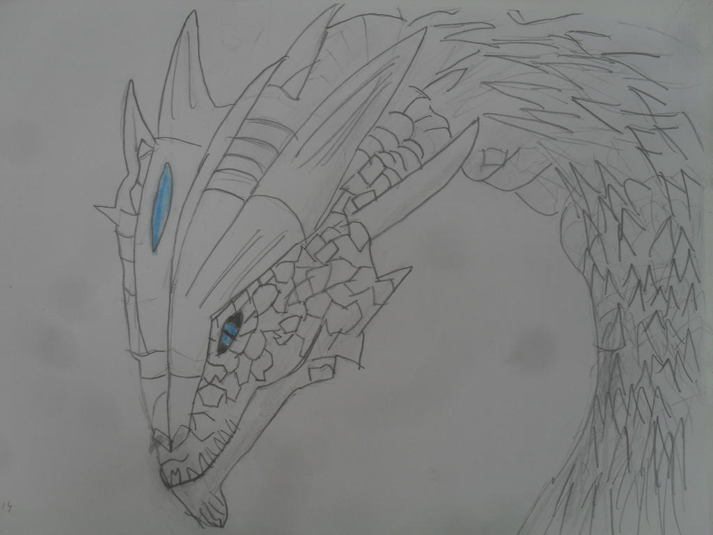 Skyrim dragon by MoonMadMalkav
