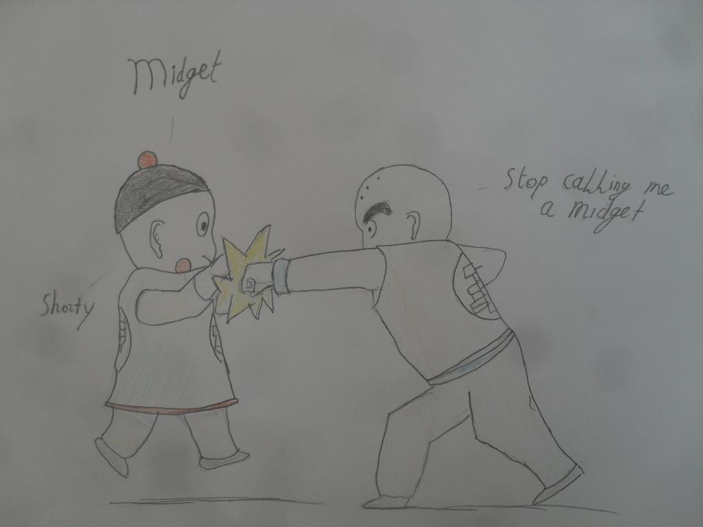 krillin vs chiaotzu by MoonMadMalkav