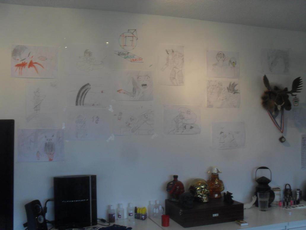 My wall by MoonMadMalkav