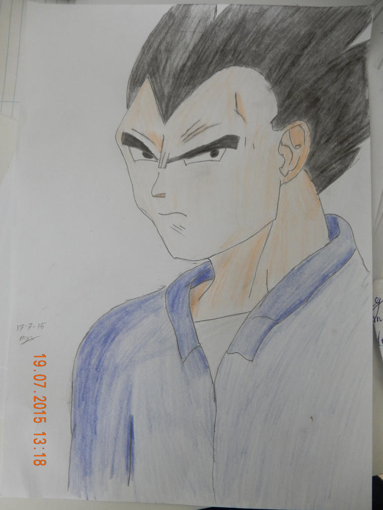 Vegeta by MoonMadMalkav