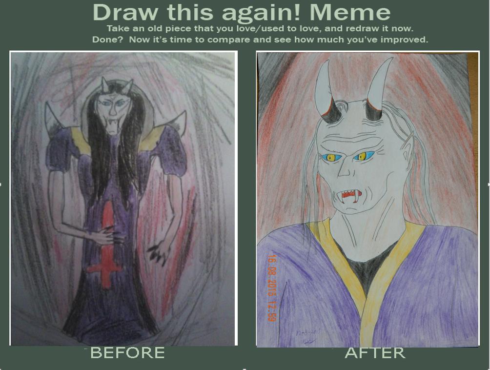 Draw this again Meme by MoonMadMalkav