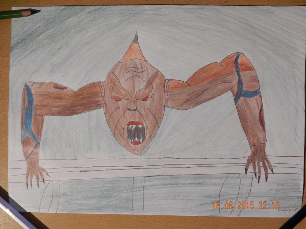 Tzmische sewer Creature by MoonMadMalkav