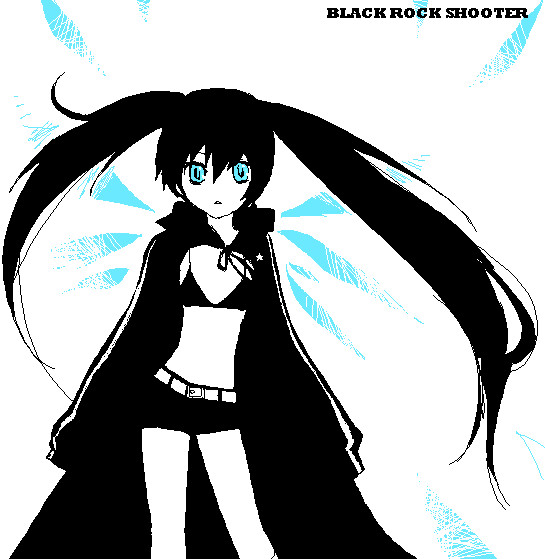 Black Rock Shooter Oekaki by Allisaer