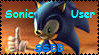 Sonic SSBB Stamp by Travota-Yasuhara