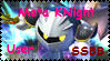 Meta Knight SSBB Stamp by Travota-Yasuhara