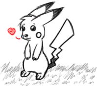 Pokemon - It's a Pikachu by Shrewdberry