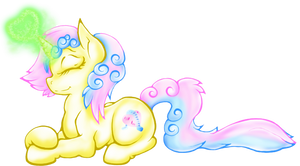 MLP:FiM - Sunny Spring (Redesign 2014) by Shrewdberry