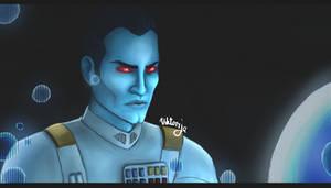 Grand Admiral Thrawn by VIKOBELO