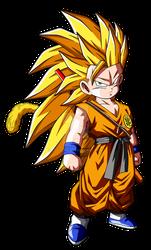 007-Kid Son Goku SSJ3