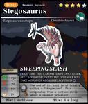 Meso Series No. 05: Stegosaurus