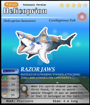 Aqua Series No. 20: Helicoprion