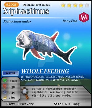 Aqua Series No. 21: Xiphactinus
