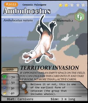 Aqua Series No. 22: Ambulocetus