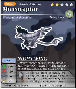 Meso Series No. 57: Microraptor