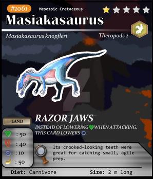 Meso Series No. 61: Masiakasaurus