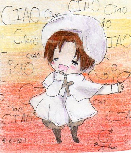 Italy-chan by l-Sonata-l