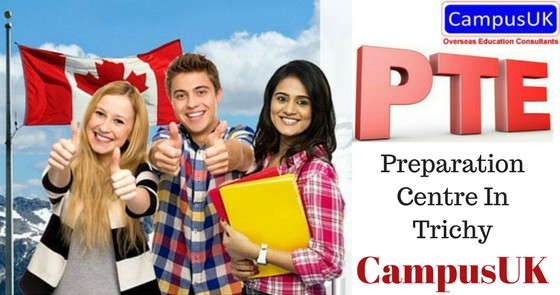 CampusUK - PTE Preparation Centre In Trichy by CampusUK