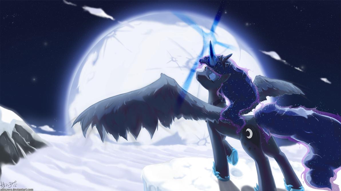 Thy Princess of the Night by AllisZero