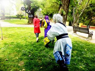 Run run Sakamoto!!! by Tomoe-kun