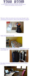 Room Meme :3 by 8BitKitsune