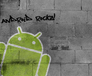 Android Graffiti HTC Desire