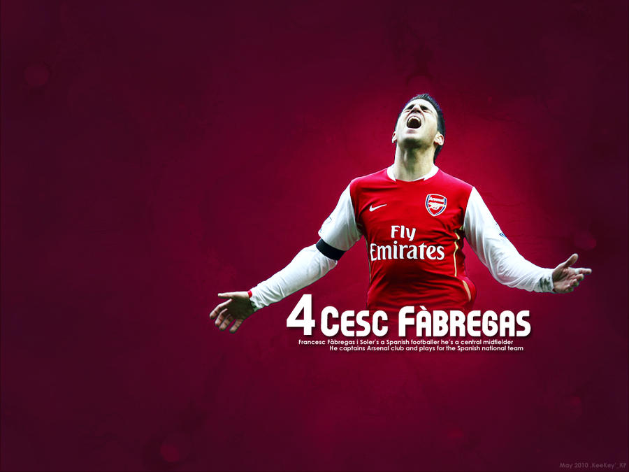 Cesc Fabregas Wallpaper by KeeKey-Akiko on DeviantArt