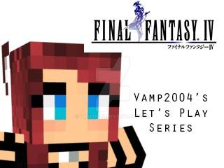 Final Fantasy 4 Let's Play Thumbnail by Vamp2004