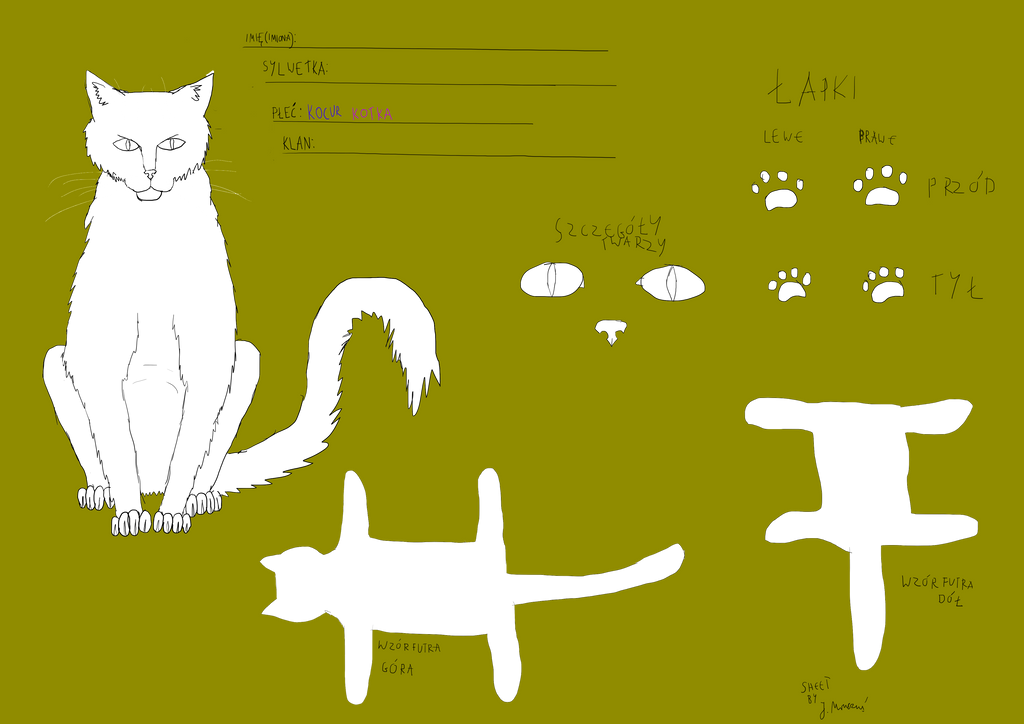 Ref sheet Warrior cats polski tekst v1.0 by jmruczus
