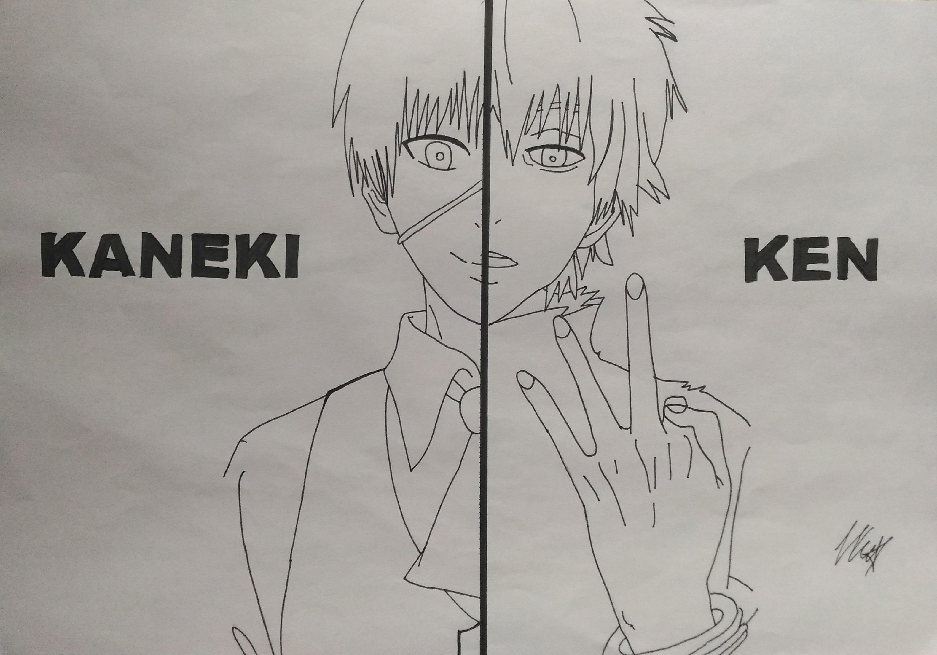 Line Art Anime : Kaneki ken lineart tokyo ghoul by mishoka on deviantart