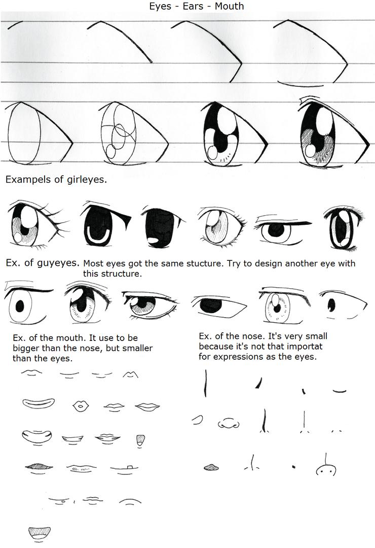 Eyes Nose Mouth Tutorial By Jhoanita On DeviantArt