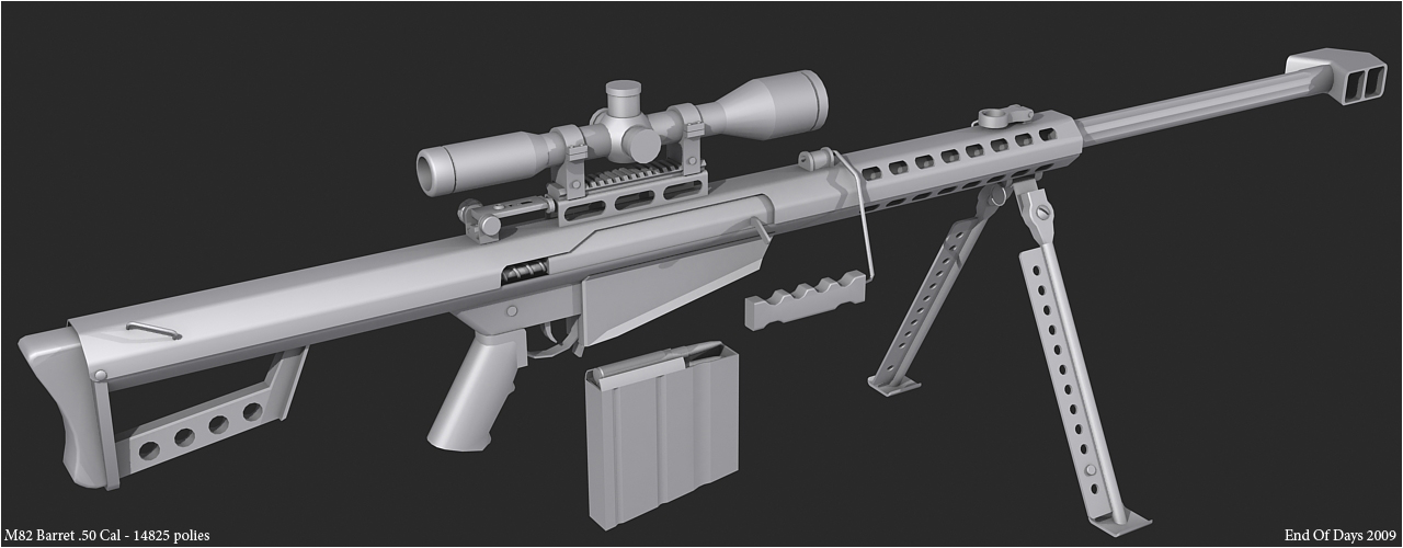 M82 Barret .50 Cal by EoD19 on DeviantArt