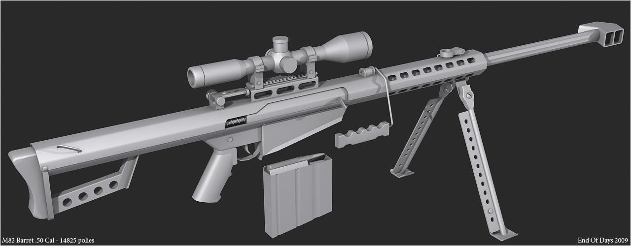 M82 Barret .50 Cal by EoD19 on DeviantArt