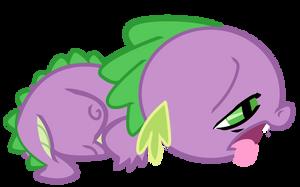 Poor Spike by RadSpyro