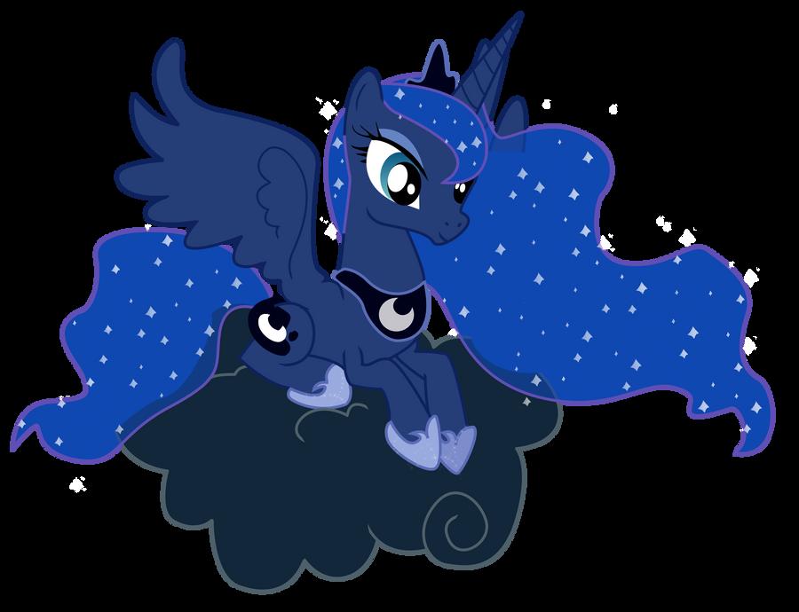 MLP Luna: Forever Floating by RadSpyro