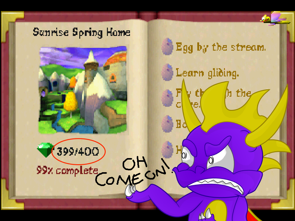 Spyro: Every (OCD) Gamer's Worst Nightmare by RadSpyro